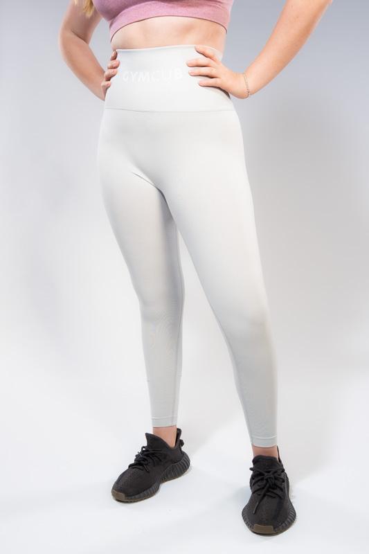 Signature Cub - High waist leggings - Bum sculpting - Light grey
